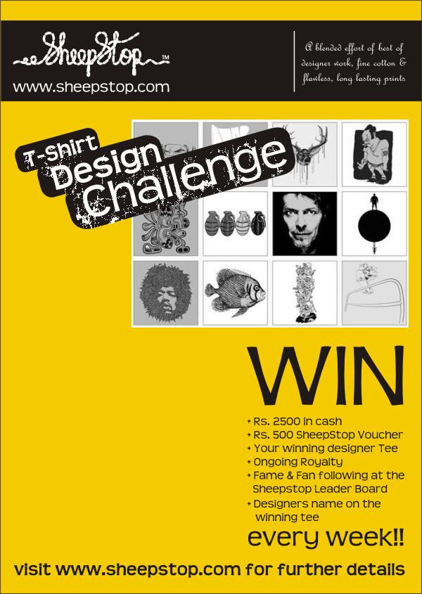 SheepStop T-Shirt Design Challenge Poster