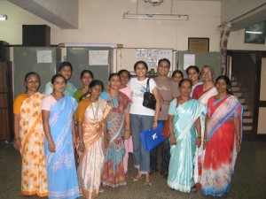 SheepStop Team with the staff of Deep Griha Society